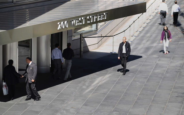 Goldman Sachs headquarters in New York City, March 14, 2012. (Mario Tama/Getty Images)