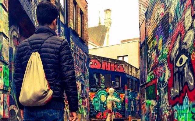 Graffiti alley in Ghent, Belgium. Courtesy of Jaime Azrad.