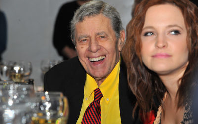 Comedian Jerry Lewis attends The Lincoln Awards: A Concert For Veterans & The Military Family presented by The Friars Foundation at John F. Kennedy Center for the Performing Arts on January 7, 2015 in Washington, DC.  JTA