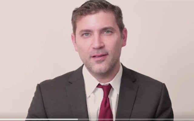 Assemblyman Dov Hikind's son, Yoni, jumps in race for City Council seat. Screenshot/Twitter