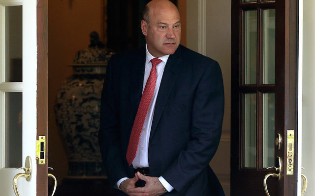 Gary Cohn at the entrance of the West Wing of the White House, June 9, 2017. (Alex Wong/Getty Images)