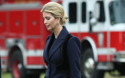 Ivanka Trump departing from the White House, Feb. 1, 2017. (Mark Wilson/Getty Images)