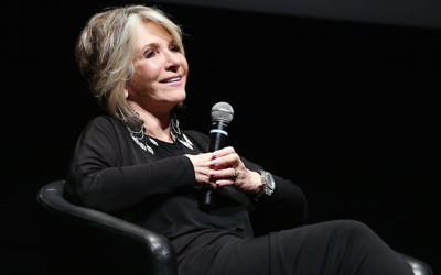 Sheila Nevins speaking at the 2012 Toronto International Film Festival, Sept. 10, 2012. (Terry Rice/Getty Images)