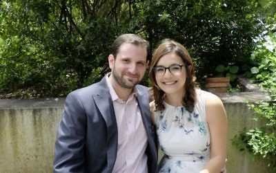 Ariel and Jacob met in January 2011 on a flight from Fort Lauderdale, Fla., to New York. They were married on May 20, 2017 at the Museum of the City of New York. Courtesy