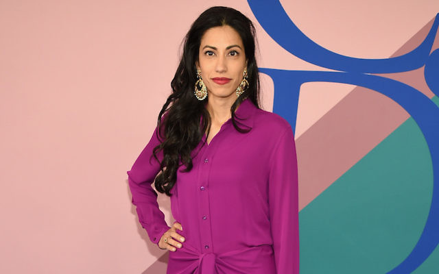 Huma Abedin at the 2017 CFDA Fashion Awards in New York CIty, June 5, 2017. (Dimitrios Kambouris/Getty Images)