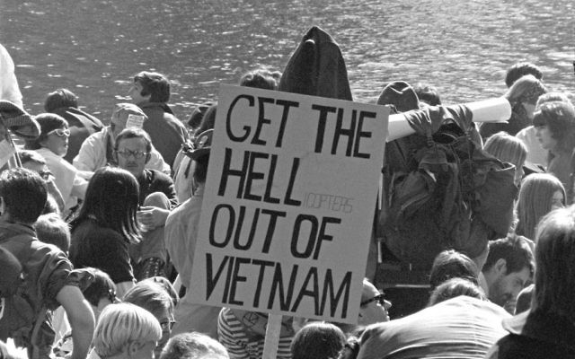 The wounds opened during Vietnam have never really closed, 50 years on. Wikimedia Commons