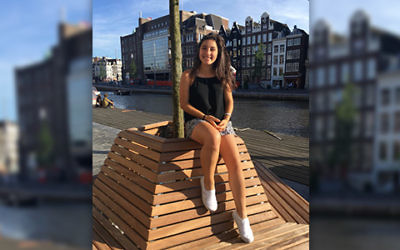 Amalia in Amsterdam. Photo Courtesy of Amalia Munn.