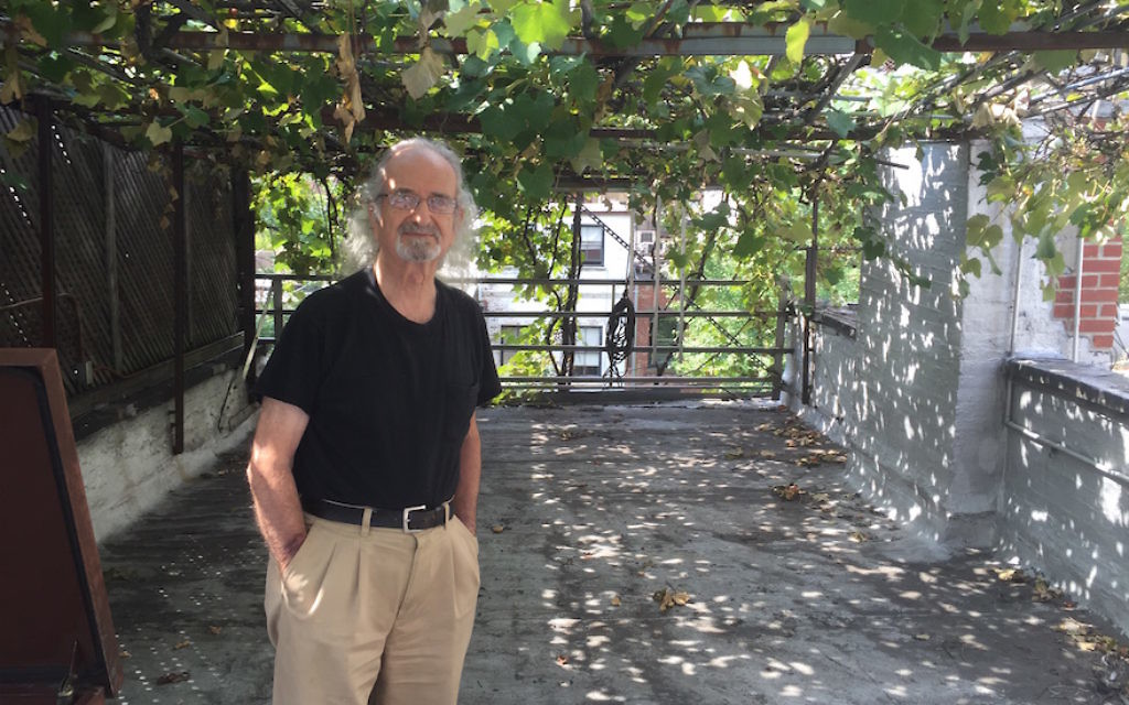 Latif Jiji at his Upper East Side winery, which dates back 40 years. JTA