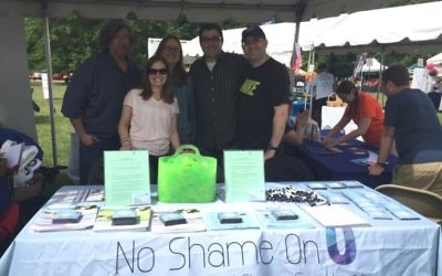 A No Shame On U event. Courtesy of NSOU