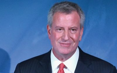 Mayor Bill de Blasio: Square meal?Getty Images