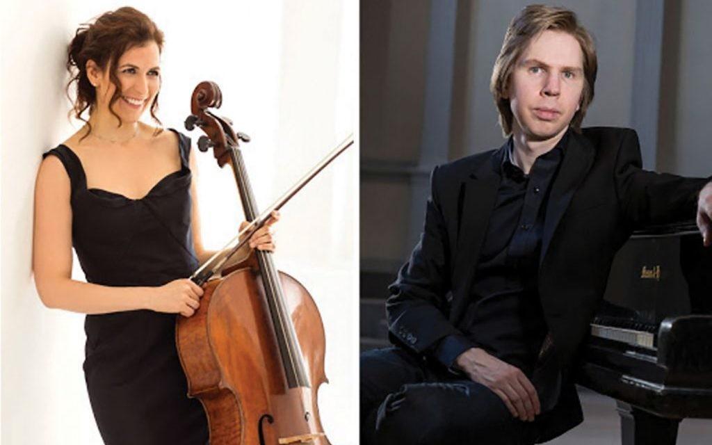 Cellist Inbal Segev and pianist Juho Pohjonen at Bargemusic. Photos courtesy of Christina Jensen PR.