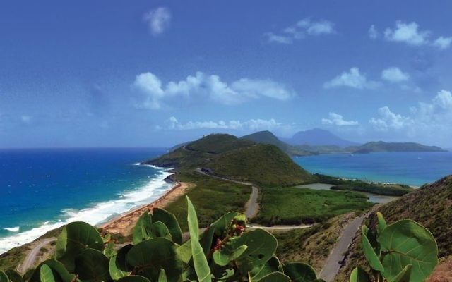 St. Kitts and Nevis was unscathed during the fall storms. Wikimedia Commons