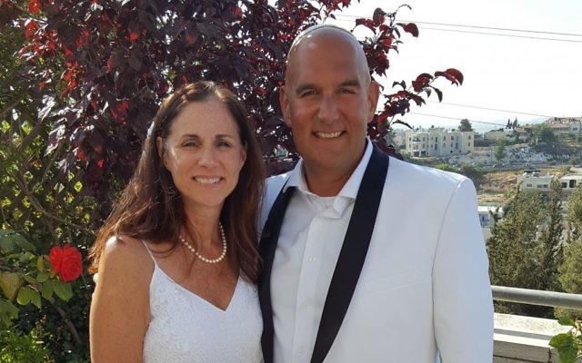 Fred and Lisa were married on June 4, 2017.  Mazal tov. Courtesy