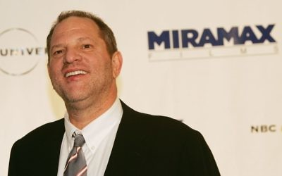 Harvey Weinstein attends a gala benefit dinner in 2004. Getty Images