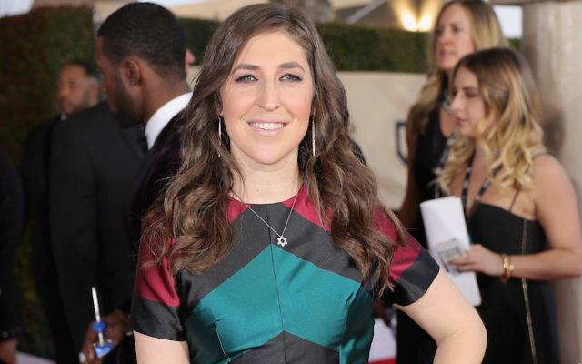 Mayim Bialik attending the 23rd Annual Screen Actors Guild Awards at The Shrine Expo Hall in Los Angeles, Jan. 29, 2017. (Neilson Barnard/Getty Images)