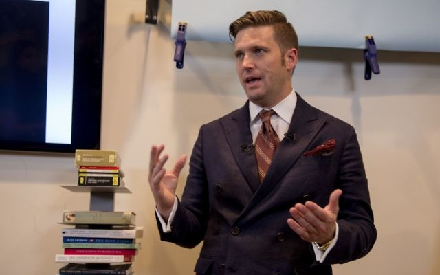 White supremacist leader Richard Spencer