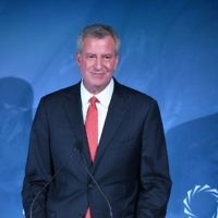 New York City Mayor Bill de Blasio, Getty Images