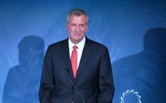 New York City Mayor Bill de Blasio, Getty Images