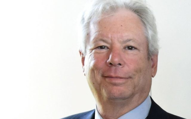 Picture taken on June 22, 2014 shows US economist Richard Thaler presenting his 2014 Global Economy Prize during the award ceremony in Kiel, northern Germany. US economist Richard Thaler on October 9, 2017 won the Nobel Economics Prize for his pioneering work on the psychology of economics, the jury said. Getty Images