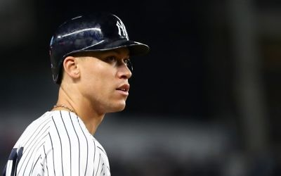 Aaron Judge, via Getty Images.