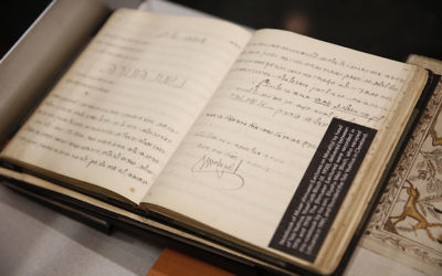 YIVO has announced the discovery of 170,000 Jewish documents that were thought to be destroyed by the Nazis. (Thos Robinson/Getty Images for YIVO Institute for Jewish Research)