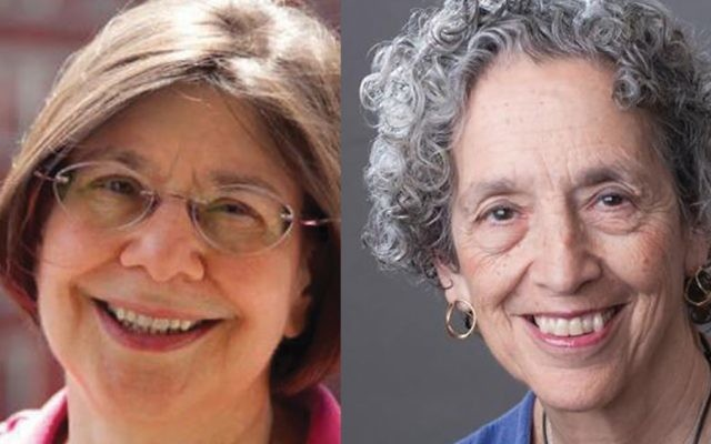 Diane Cole left and Ruth Messinger