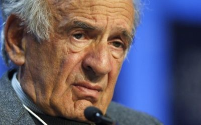 Elie Wiesel | Getty Images.