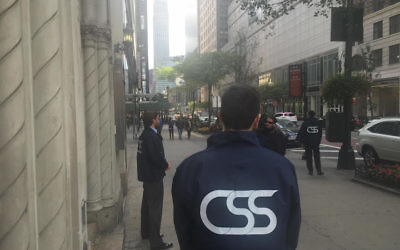 CSS volunteers learn techniques to spot suspicious people in order to thwart potential attacks. (Courtesy of CSS)