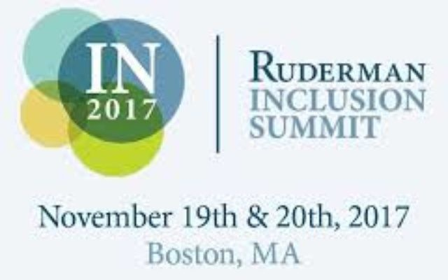 The Ruderman Inclusion Summit. Courtesy of the Ruderman Family Foundation