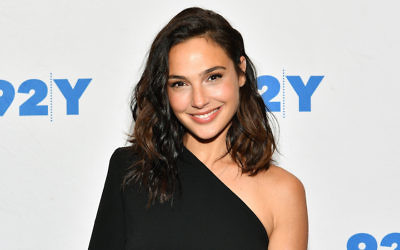 "Gal Gadot attends ""Gal Gadot and Meher Tatna in Conversation with Carla Sosenko"" at the 92nd Street Y in New York City, Oct. 1, 2017. (Dia Dipasupil/Getty Images)"