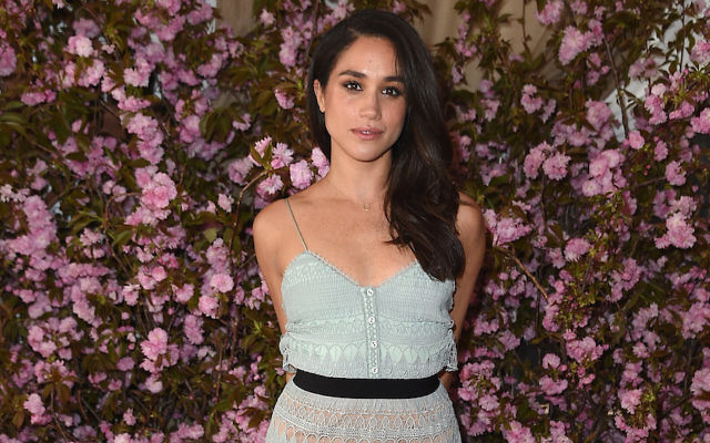 Meghan Markle at an event at the NoMad Hotel Rooftop in New York City, April 27, 2016. (Nicholas Hunt/Getty Images for Glamour)