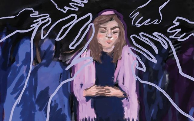 The associate dean of the Ziegler School in Los Angles says classes are set to begin next month for women rabbinical students in how to deal with sexual harassment. Artwork by Lior Zaltzman via JTA