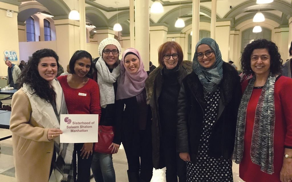 Muslim and Jewish women will gather on Christmas to serve the needy at a church soup kitchen in Chelsea. Courtesy of Salaam Shalom