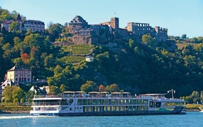 The Avalon Luminary, along the Rhine in Germany. Courtesy of Avalon Waterways