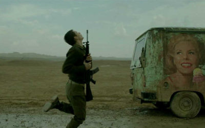 """A scene from Samuel Maoz's """"Foxtrot,"""" which comes eight years after his highly acclaimed war film, """"Lebanon."""" Bord Cadre Films"""