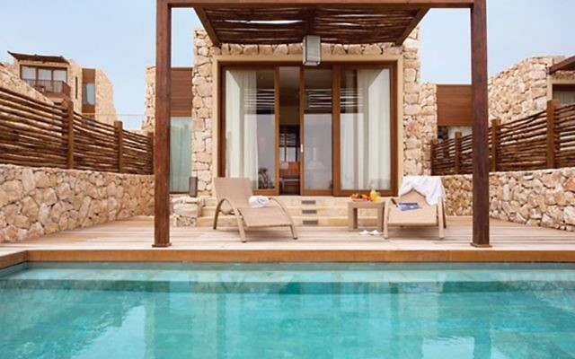 Views of the Beresheet Hotel in Mitzpe Ramon.