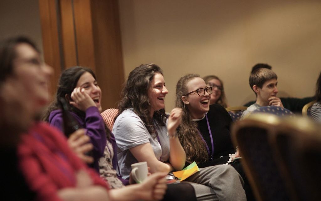 The festival attracted over 2,000 attendees from across Europe. Courtesy of Limmud