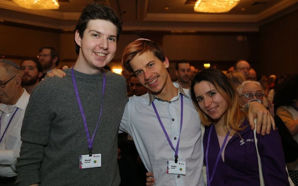 At the Limmud Festival in England where more than 2,500 European Jews spent Christmas week at the 'world's largest celebration of Jewish learning and culture.' Courtesy of Limmud