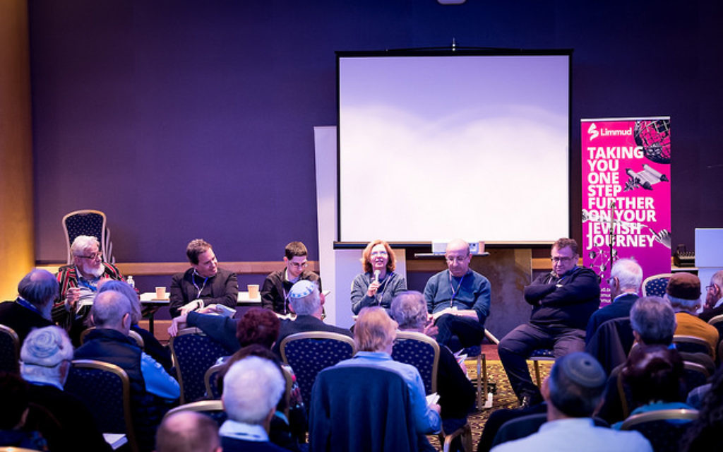 A session at the Limmud Festival in England this past week. Courtesy of Limmud