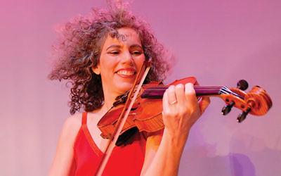 Alicia Svigals headlines the Seaport's first-ever Chanukah party. Via Eventbrite.com