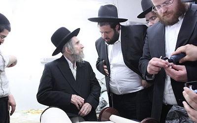 Rabbi Aharon Leib Shteinman. WIkimedia Commons