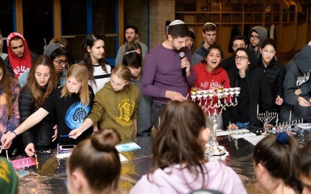 Students at the American Jewish Academy. Courtesy of Andrew Bowen Photography
