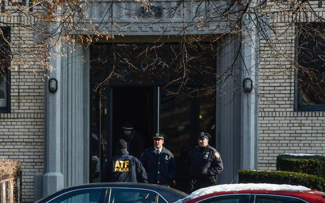 Police investigating a suspected home of the Port Authority attacker Akayed Ullah in Flatbush, Brooklyn, Dec. 11, 2017. (Stephanie Keith/Getty Images)
