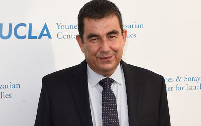 "Ari Shavit, shown in 2015, was a popular draw on the Jewish lecture circuit after the publication of his book ""My Promised Land."" JTA"