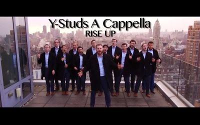 Y-Studs A Cappella. Courtesy of Y-Studs A Cappella
