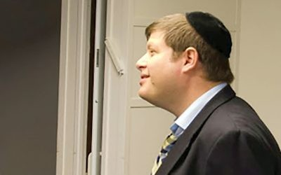 """Admired, but out: Rabbi Steven (Shmuel) Krawatsky was terminated by the Beth Tfiloh Dahan Community School in Baltimore, which cited """"the explosive nature"""" of allegations against him and """"associated publicity"""" as factors in his dismissal."""