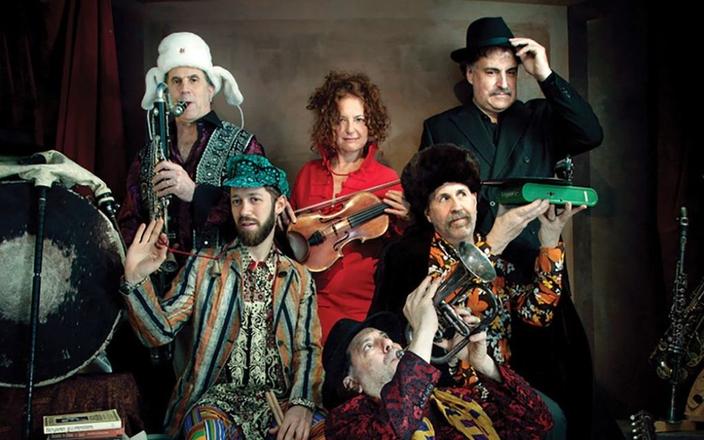 """A still from the Israeli film """"The Band's Visit,"""" on which the Broadway musical is based."""