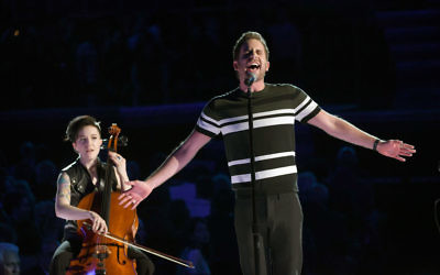 NEW YORK, NY - JANUARY 28:  Actor Ben Platt performs onstage during the 60th Annual GRAMMY Awards at Madison Square Garden on January 28, 2018 in New York City. Getty Images