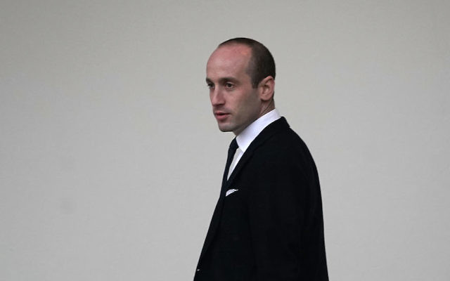 Stephen Miller, the White House senior adviser for policy, photographed at the White House, Dec. 15, 2017. (Photo by Alex Wong/Getty Images)