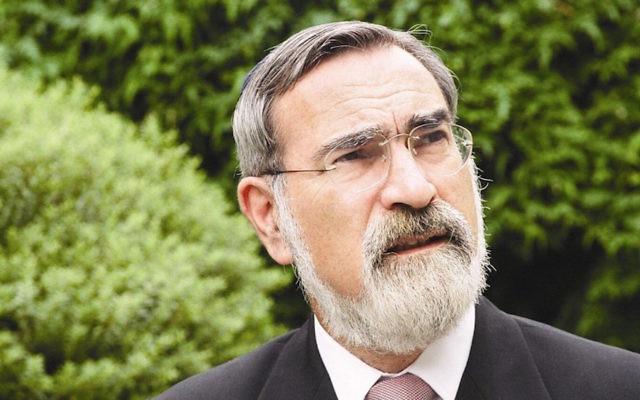 Rabbi Jonathan Sacks (United Synagogue)